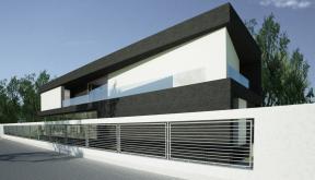 Proiect Locuinta Unifamiliala Moderna casa moderna cod KRM in Bolintin Giurgiu