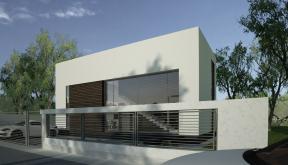 proiect casa moderna cod cco in otopeni ilfov cub architecture