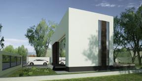 proiect casa moderna otopeni ilfov cub architecture