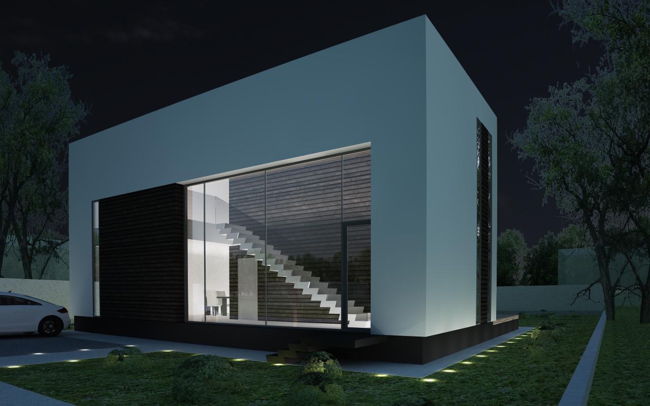 casa moderna cod cco in otopeni cub architecture