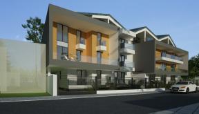 Proiect Ansamblu Rezidential Sinca Bucuresti bloc modern cu 24 de apartamente cod SINC in Bucuresti, S1