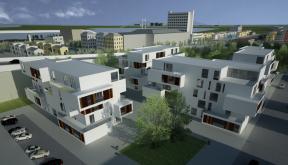 Proiect Ansamblu Rezidential cu 4 Unitati Locuinte cu 26 de apartamente cod DDUO in Otopeni IF