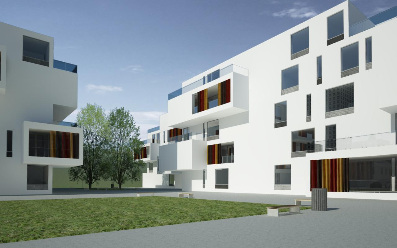 Proiect Ansamblu Rezidential cu 4 Unitati Locuinte Colective cu 26 de apartamente cod DDUO in Otopeni IF