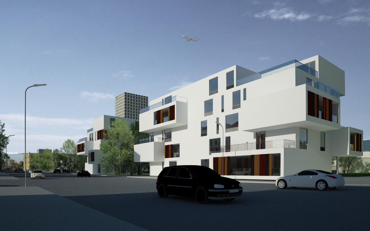 Proiect Ansamblu Rezidential cu 4 Unitati Locuinte Colective Otopeni cu 26 de apartamente cod DDUO in Otopeni IF