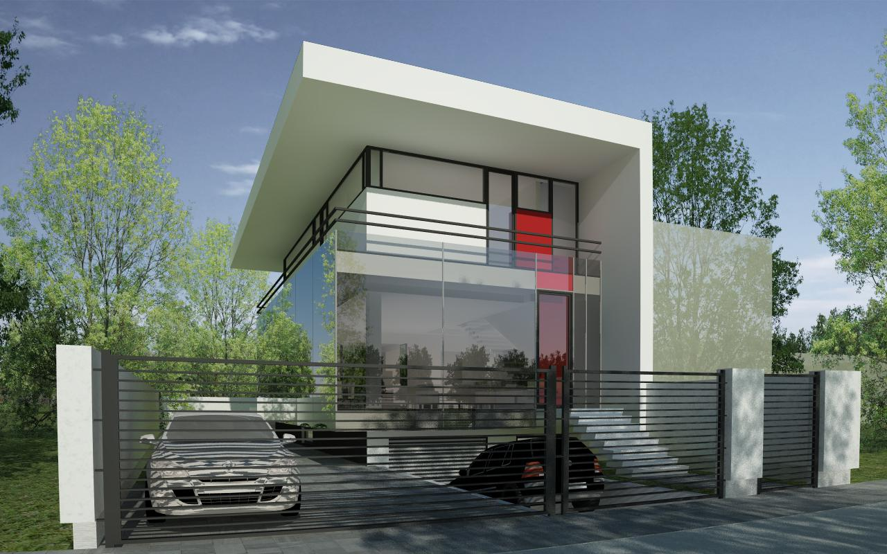 Modern house in bucharest s6 project from cub for Projects of houses