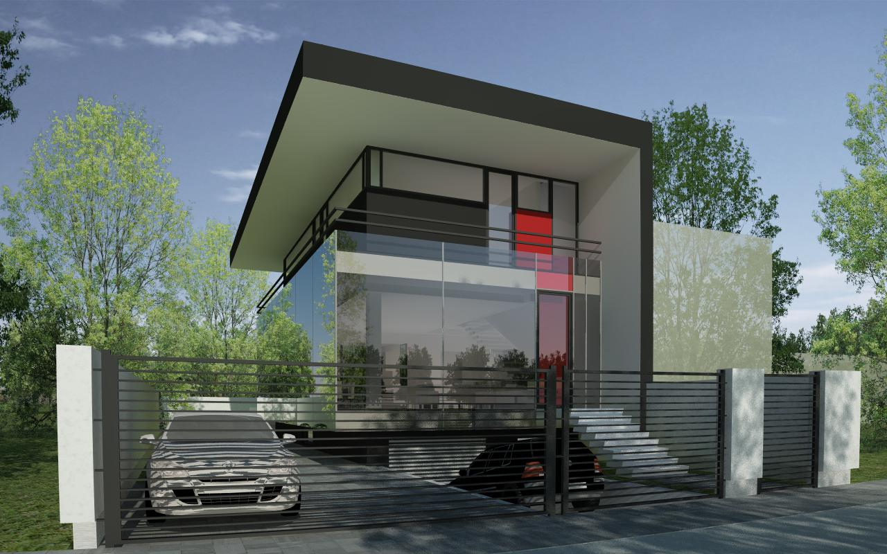 modern house in bucharest s6 project from cub architecture portfolio - Casa Cub Moderne