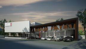 Proiect CUBE Boutique Hotel si Restaurant Mioveni | Concept Design hotel si restaurant cod MIOV | Proiect din portofoliul CUB Architecture