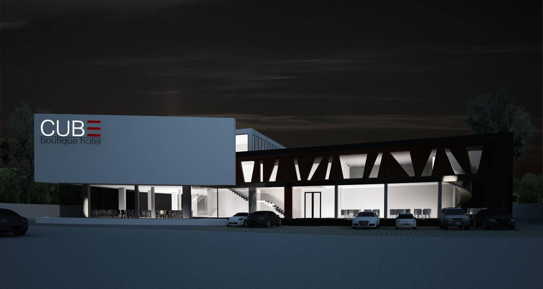 Proiect CUBE Boutique Hotel si Restaurant Mioveni, Arges | Concept Design hotel si restaurant cod MIOV in Mioveni, AG | Proiect din portofoliul CUB Architecture