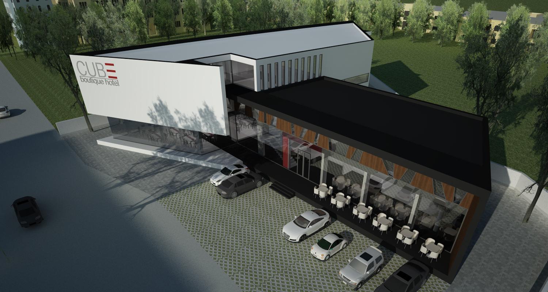 Proiect CUBE Boutique Hotel si Restaurant Mioveni | Concept Design hotel cod MIOV | Proiect din portofoliul CUB Architecture