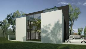 Proiect Casa Minimalista cu 2 etaje cod RMB in Bucuresti Sector 3