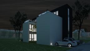 Proiect Casa Minimalista cu 2 etaje cod RMB in Bucuresti