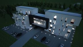 Proiect Imobil Rezidential Modern cu 12 + 1 Apartamente cod SBBG in Galati