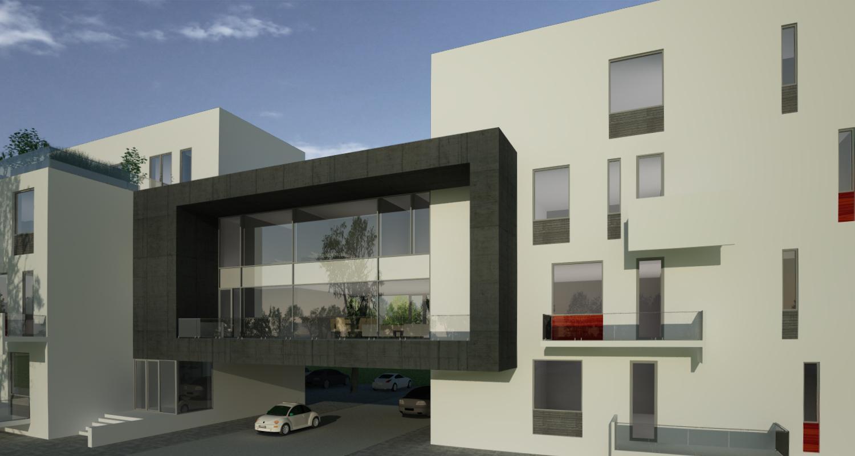 Proiect Imobil Rezidential cu 12 + 1 Apartamente bloc modern cod SBBG in Galati