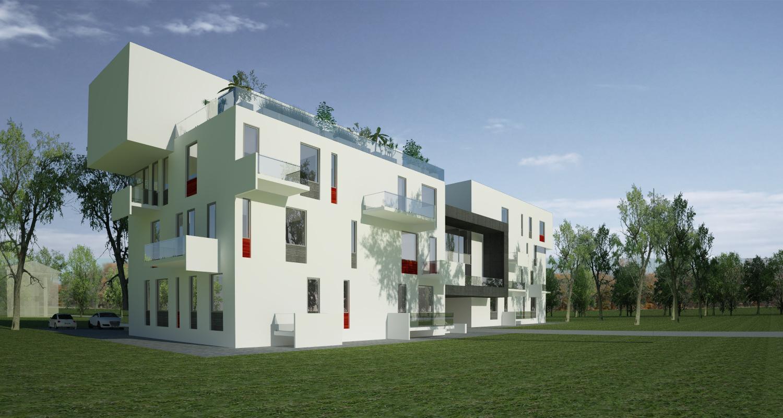 Proiect Imobil Rezidential cu 12 + 1 Apartamente Galati bloc de locuinte modern cu 12 + 1 apartamente cod SBBG in Galati GL