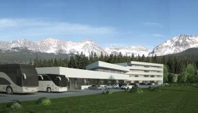 Proiect Hotel si Restaurant si Spa Cheile Rasnoavei hotel cod HCRB in Ceile Rasnoavei BV