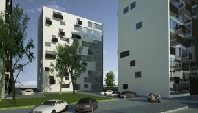 Proiect Ansamblu Rezidential cu 4 Blocuri Pitesti cu 66 de apartamente cod BWRA in Pitesti AG