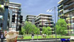 Proiect Ansamblu Imobile de Birouri Bucuresti | Concept Design ansamblu de birouri modern cu 6 imobile cod OFFI in Bucuresti, S6 | Proiect din portofoliul CUB Architecture