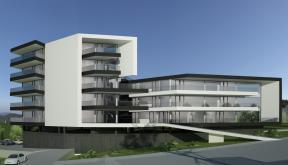 Proiect Ansamblu Rezidential Sibiu locuinte moderne cu 28 de apartamente cod BWR Sin Sibiu