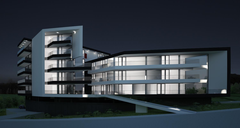 Proiect Ansamblu Rezidential cu apartamente cod BWRS in Sibiu