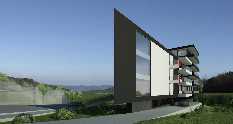 Proiect Ansamblu Rezidential Sibiu cu 28 de apartamente cod BWRS in Sibiu