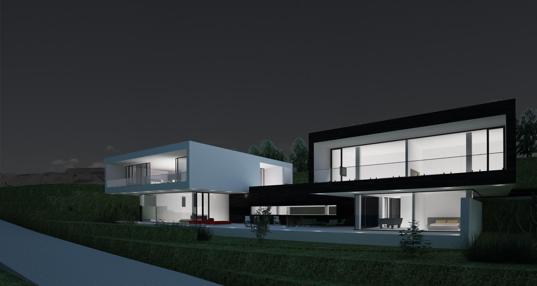 casa moderna pe malul lacului cod CMS Skapafors Suedia