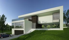 Proiect Locuinta Unifamiliala Moderna casa moderna cod HFL in Ludus Mures