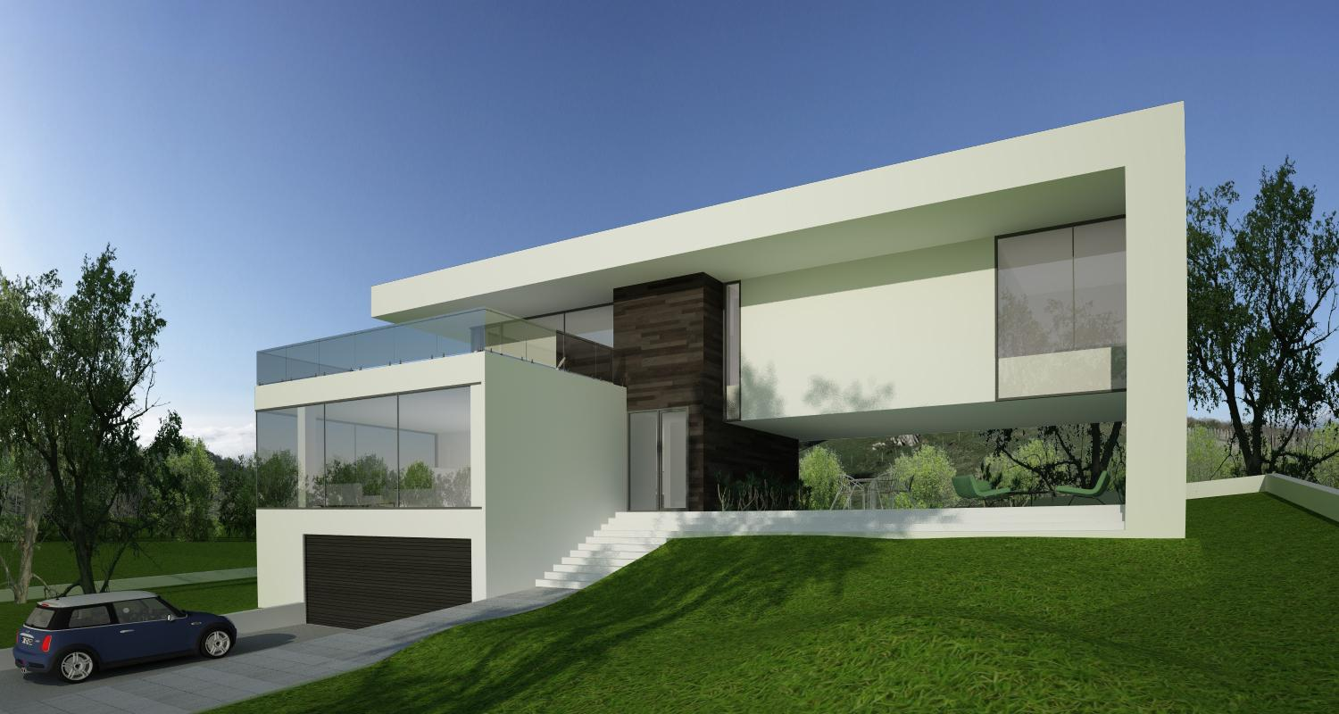 modern home in ludus mures project from cub architecture portfolio - Casa Cub Moderne