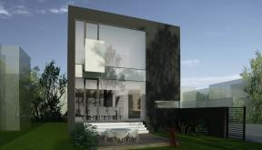 Black House Insertie Urbana casa moderna cu atrium cod LMB Bucuresti Sector 2