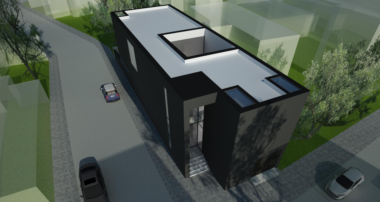 Black House Insertie Urbana casa moderna cod LMB Bucuresti Sector 2