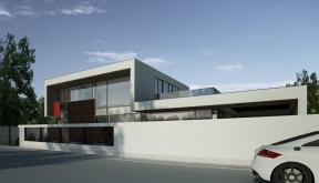 Proiect Locuinta Unifamiliala Moderna casa moderna cod GTV in Videle
