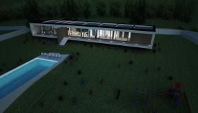 Proiect Casa Moderna si Piscina cod BCI Iasi