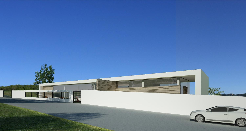 Proiect Casa Moderna pe teren generos cod BCI Iasi