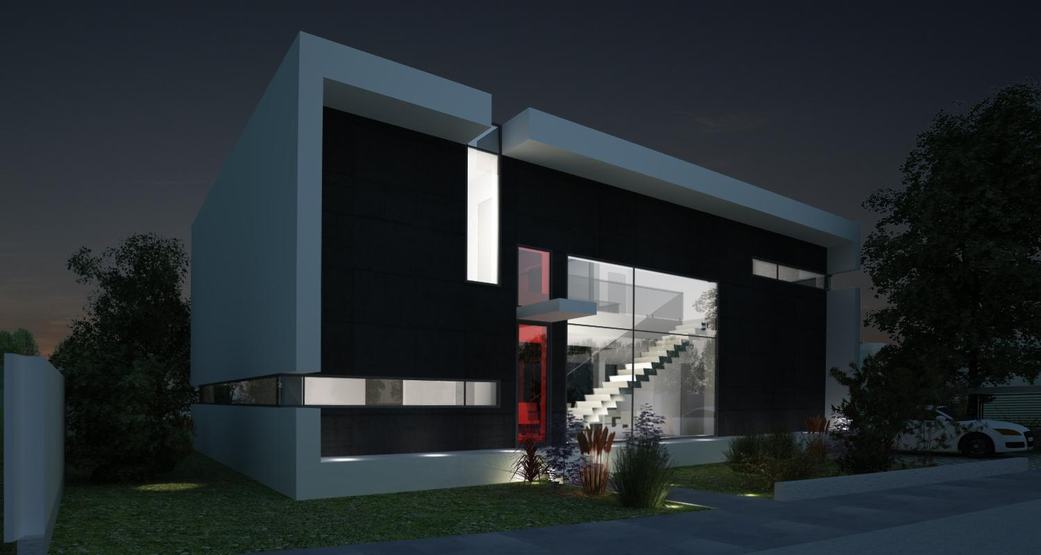 Modern House In Chiajna Ilfov Project From Cub