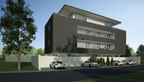 Proiect Imobil Rezidential cu 7 Apartamente Bucuresti | Concept Design bloc modern cu 7 apartamente cod RBAB in Bucuresti, Sector 3 | Proiect din portofoliul CUB Architecture