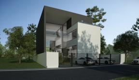 Proiect Locuinta Moderna casa moderna cu 2 etaje cod AMS Slobozia Ialomita