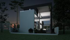 Proiect Locuinta Moderna cu 2 etaje cod AMS Slobozia