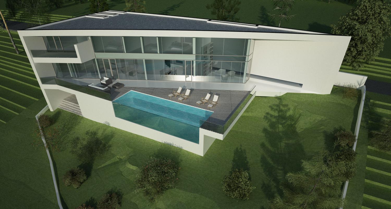 Proiect Locuinta Moderna si piscina cod CABV Poiana Brasov