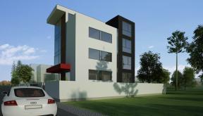 Pensiune cu 10 camere in Otopeni, Ilfov | Proiectare Finalizata pensiune in otopeni cod BCOP | Proiect din portofoliul CUB Architecture
