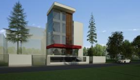 Pensiune Urbana cu 10 camere in Otopeni, Ilfov | Proiectare Finalizata pensiune in otopeni cod BCOP | Proiect din portofoliul CUB Architecture