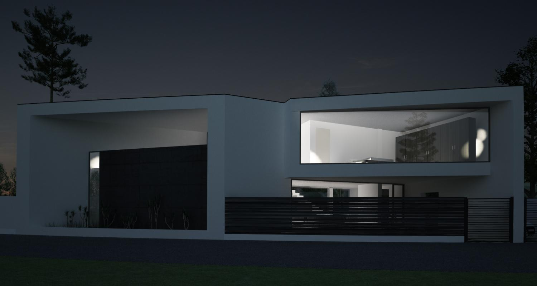 Proiect casa pe teren triunghiular Iasi