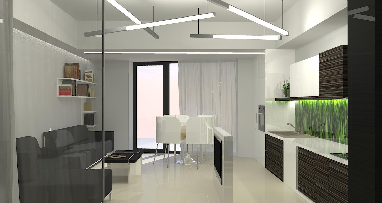 Proiect Amenajare Apartamente in Sinca Residence | Concept Design Amenajare Apartamente in  Sinca Residence cod INSI | Proiect din portofoliul CUB Architecture