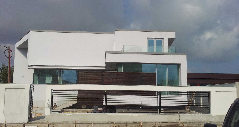 en locuinte moderne pe malul lacului siutghiol lucrare finalizata casa cod sai fin constanta - Casa Cub Moderne