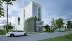 Proiect Green Hotel patru stele Galati, Concept Design Hotel Urban cod GHGL Galati - proiect din portofoliul CUB Architecture