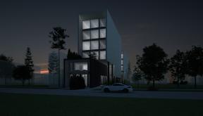 Proiect Green Hotel patru stele Galati, GL | Concept Design Hotel cod GHGL Galati - proiect din portofoliul CUB Architecture