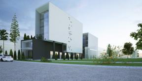 Proiect Green Hotel - urban -  Galati, GL | Concept Design Hotel Urban cod GHGL Galati - proiect din portofoliul CUB Architecture