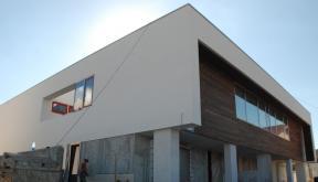 Duplex modern Lucrare finalizata casa moderna cod GDP Fin in Pantelimon portofoliu cub architecture