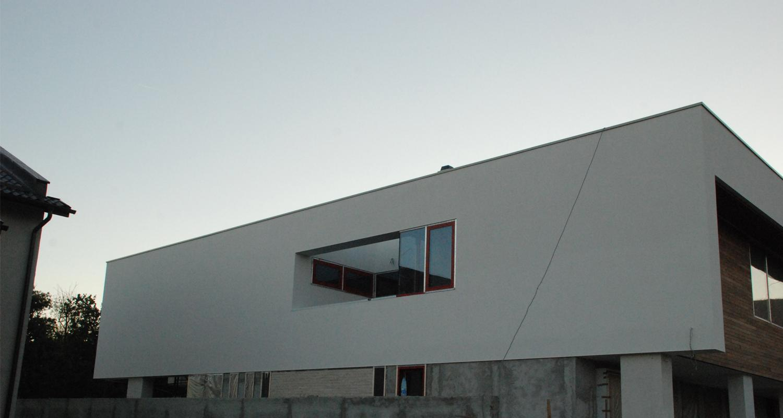 Duplex modern Lucrare finalizata casa moderna cod GDP Fin in Pantelimon Ilfov portofoliu cub architecture