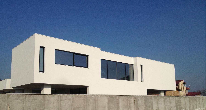 En Locuinte Moderne Lucrare Finalizata Casa Moderna Cod Pmc Fin Chiajna Ilfov Lucrare Din