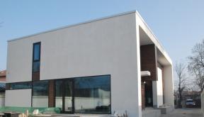 Locuinte moderne finalizate CUB Lucrare finalizata casa moderna minimalista cod CAA Fin Alexandria proiect din portofoliul cub architecture