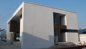 Locuinte moderne finalizate Lucrare finalizata casa moderna cod CAA Fin Alexandria Teleorman proiect din portofoliul cub architecture